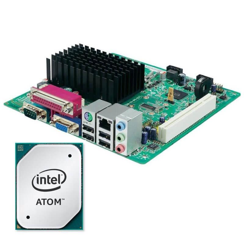 Kit Placi de baza Refurbished Mini-ITX Intel D2500HN, Intel Atom D2500, Shield