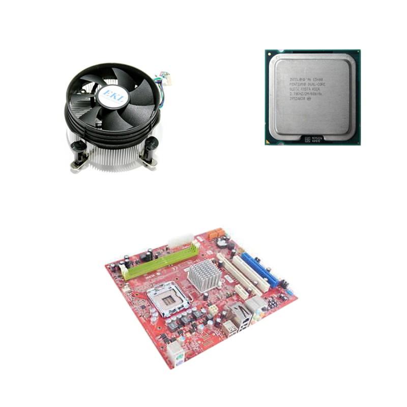 Kit Placi de baza Refurbished MS-7366 V3.1, E5400, Cooler