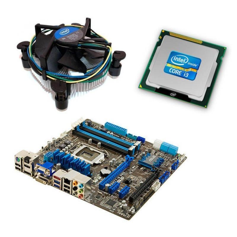 Kit Placi de baza SH Asus P8H77-M PRO, Intel i3-3220, Cooler
