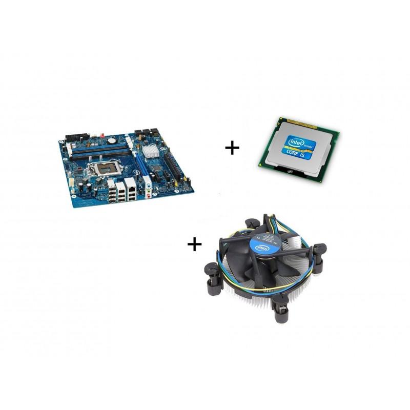 Kit Placi de baza SH Intel DP55WB, I5-750 Quad Core, Cooler