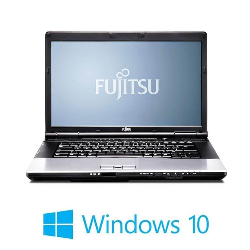 Laptop Fujitsu LIFEBOOK E752, Intel i3-3110M, 15.6 inci, Webcam, Win 10 Home