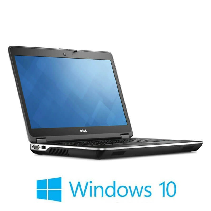 Laptop Refurbished Dell Latitude E6440, i7-4610M, 250GB SSD, Full HD, Win 10 Home