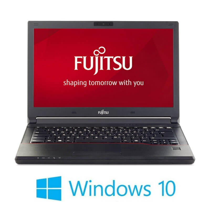 Laptop Refurbished Fujitsu LIFEBOOK E546, i3-6006U, SSD, Webcam, Win 10 Home