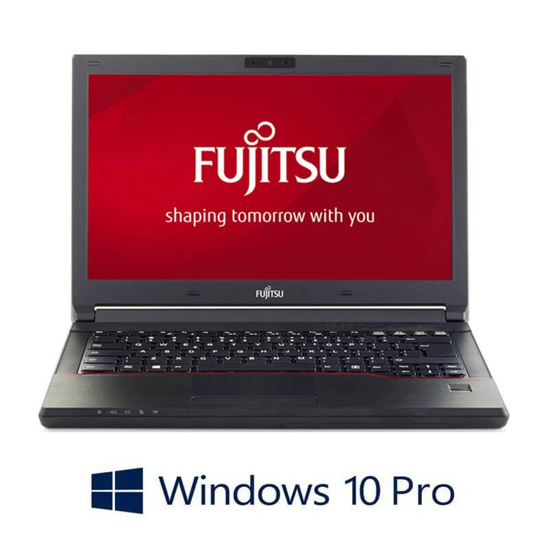 Laptop Refurbished Fujitsu LIFEBOOK E546, i3-6006U, SSD, Webcam, Win 10 Pro