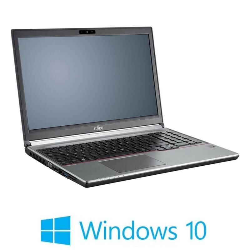 Laptop Refurbished Fujitsu LIFEBOOK E736, i3-6100U, 8GB DDR4, Win 10 Home