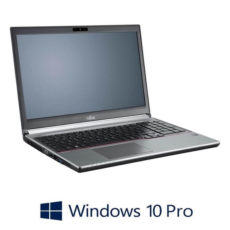 Laptop Refurbished Fujitsu LIFEBOOK E736, i3-6100U, 8GB DDR4, Win 10 Pro
