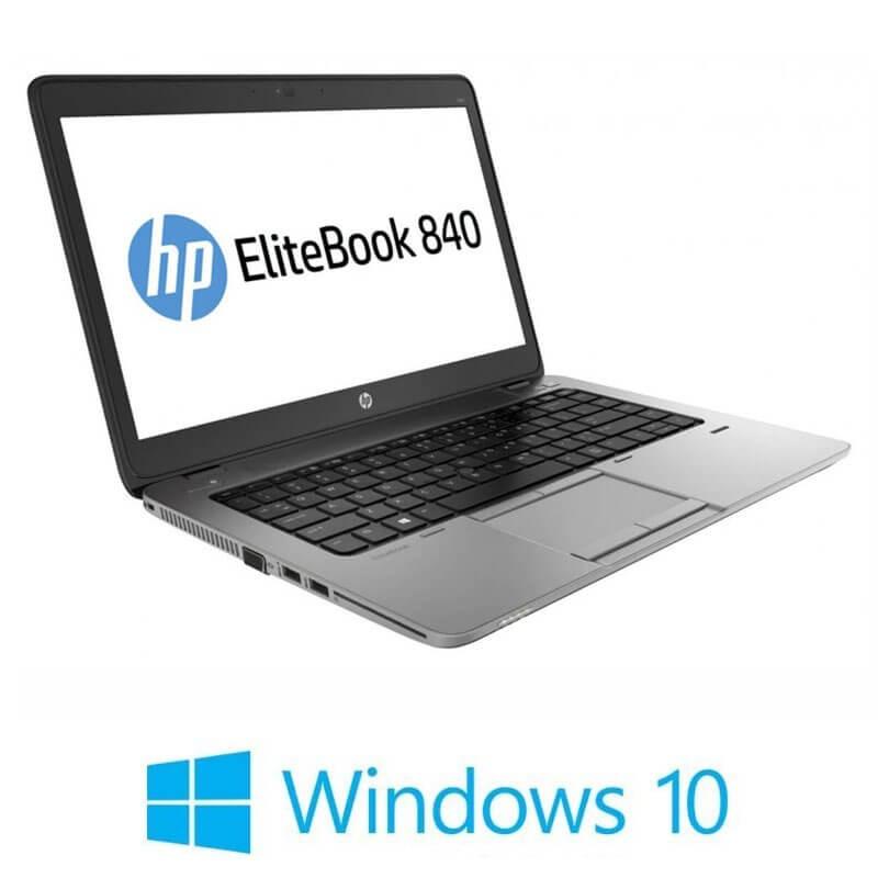 Laptop Refurbished HP EliteBook 840 G2, Intel i5-5200U, Full HD, Win 10 Home