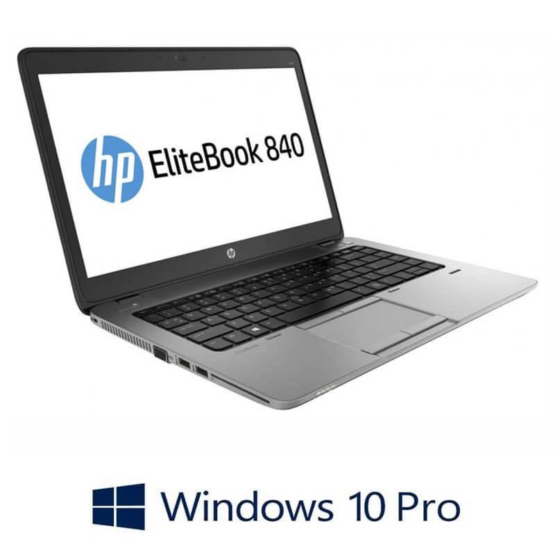 Laptop Refurbished HP EliteBook 840 G2, Intel i5-5200U, Full HD, Win 10 Pro