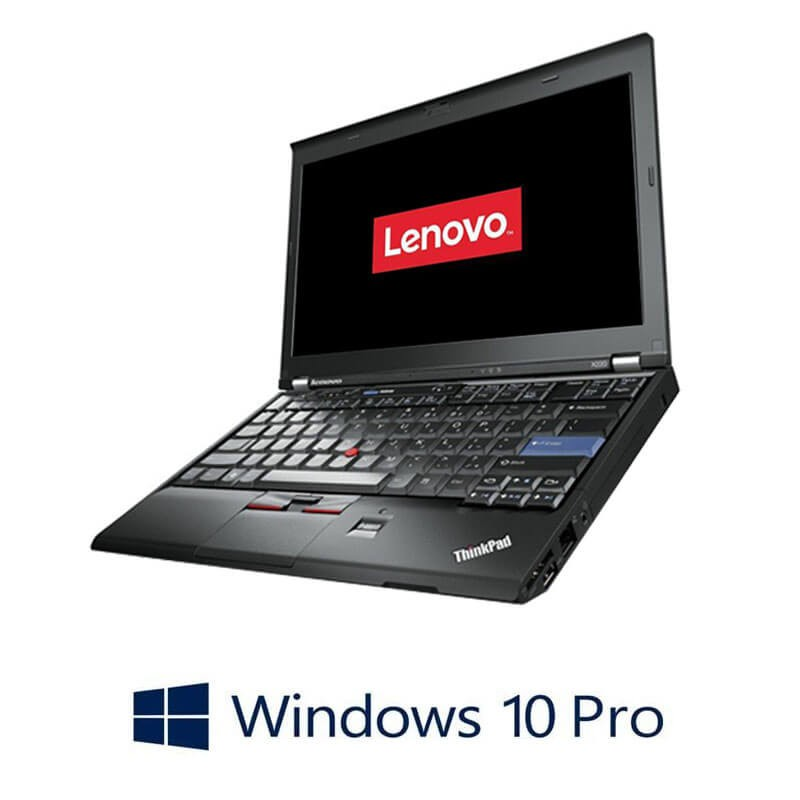 Laptop Refurbished Lenovo ThinkPad X220, Intel i5-2450M, Webcam, Win 10 Pro