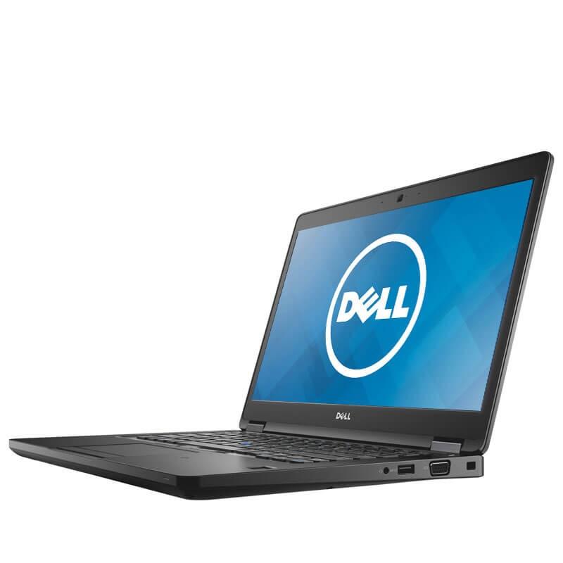 Laptop second hand Dell Latitude 5480, Intel Core i5-7200U, 256GB SSD, 14 inci, Webcam