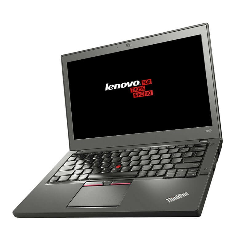 Laptop second hand Lenovo ThinkPad X250, Intel i7-5600U, Full HD, SSD, Grad A-, Webcam