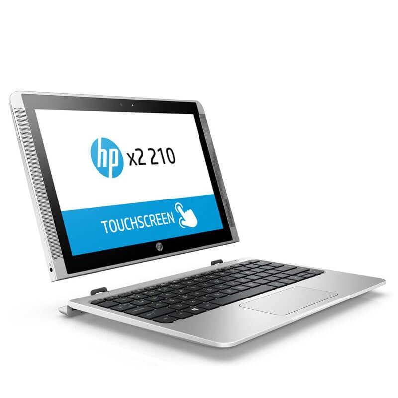 Laptopuri 2 in 1 Touchscreen second hand HP x2 210 G2, Quad Core x5-Z8350, Grad A-, 10.1 inch
