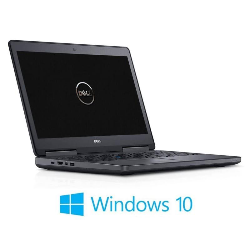 Laptopuri Dell Precision 7510, i7-6820HQ, 16GB RAM, 512GB SSD, Quadro M1000M, Win 10 Home