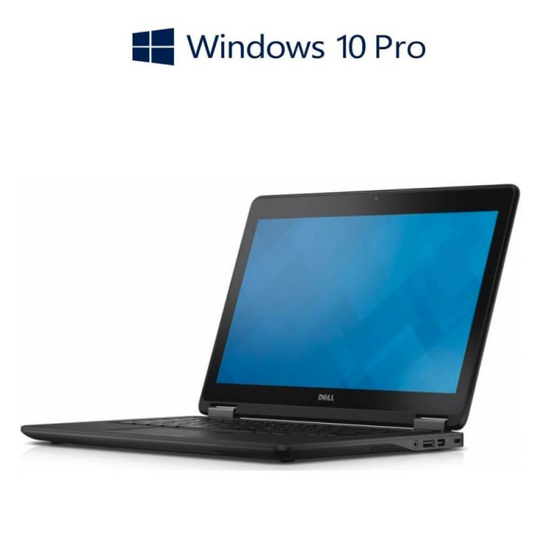 Laptopuri Refurbished Dell Latitude E7250, i7-5600U, 256GB mSATA, Win 10 Pro