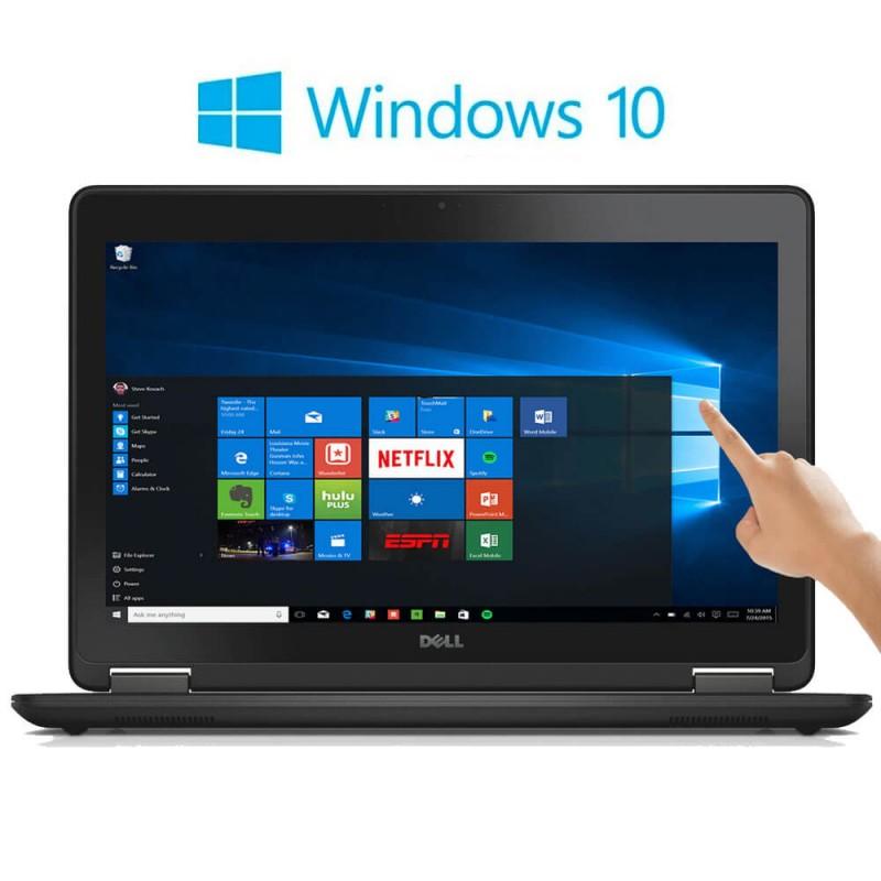 Laptopuri Refurbished Dell Latitude E7250 TouchScreen FHD, i7-5600U, Win 10 Home