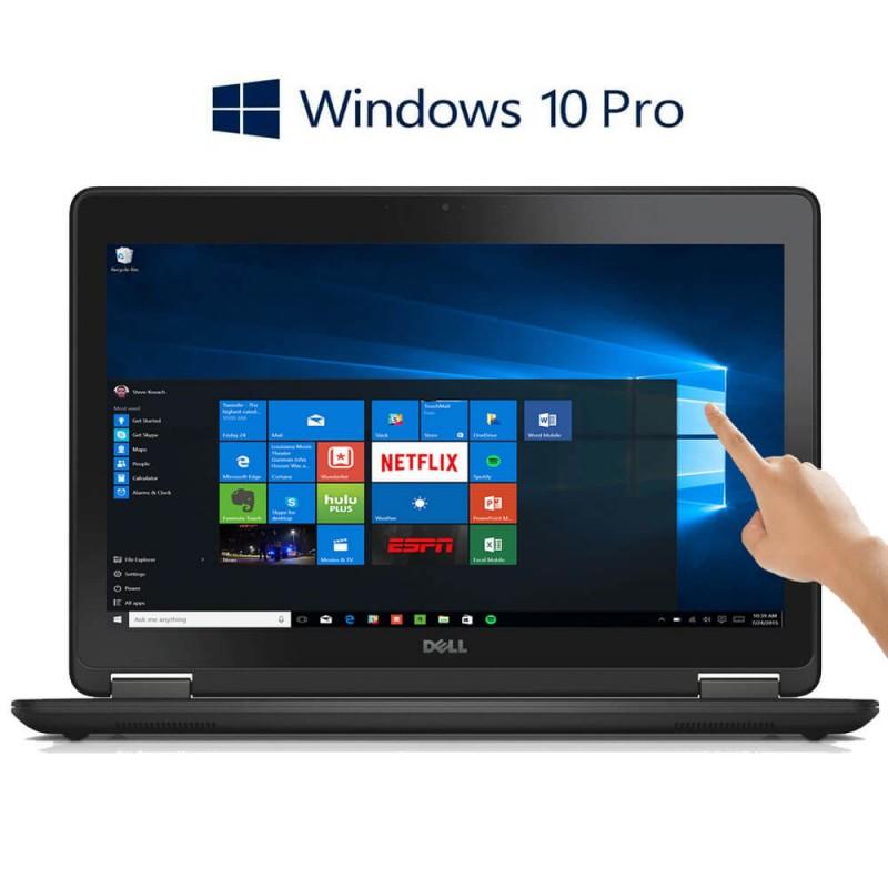 Laptopuri Refurbished Dell Latitude E7250 TouchScreen FHD, i7-5600U, Win 10 Pro