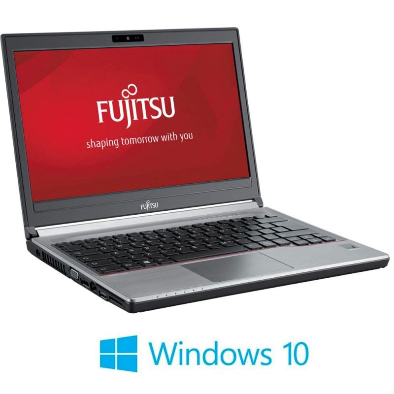 Laptopuri Refurbished Fujitsu LIFEBOOK E734, i3-4000M, Windows 10 Home