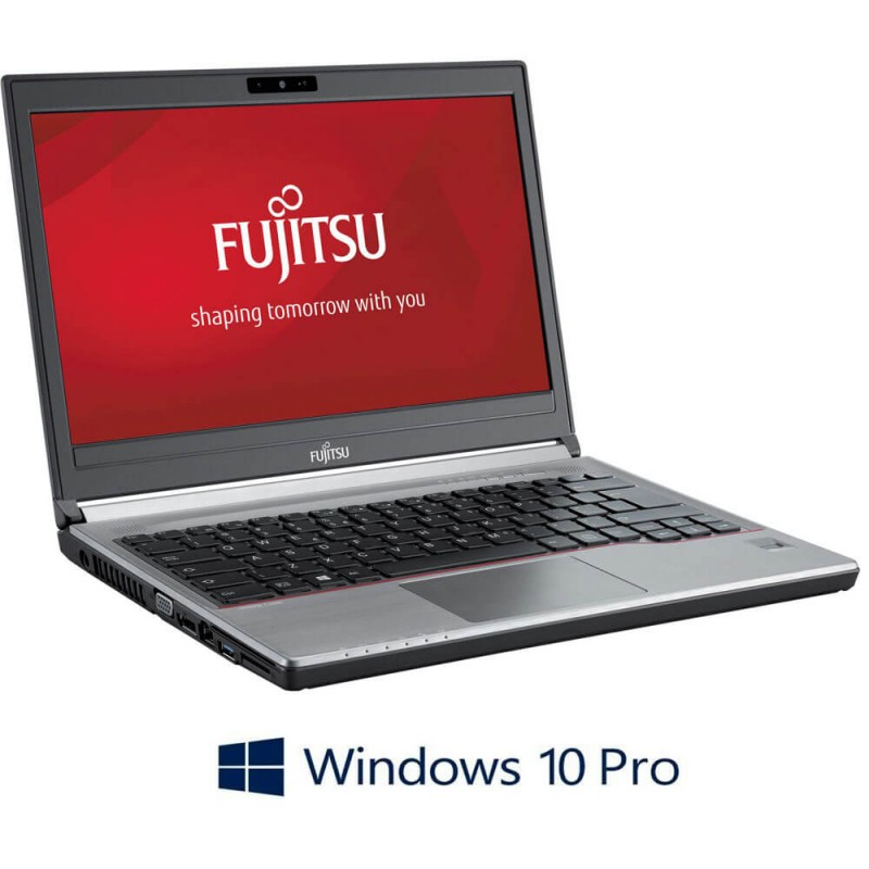 Laptopuri Refurbished Fujitsu LIFEBOOK E734, i3-4000M, Windows 10 Pro