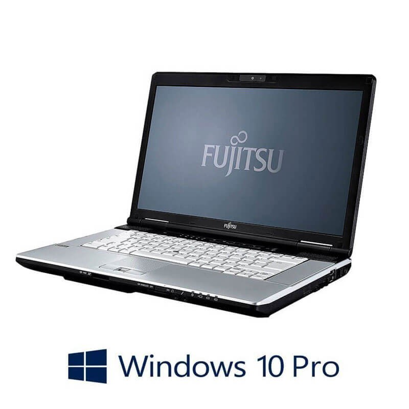 Laptopuri Refurbished Fujitsu LIFEBOOK S751, Core i3-2350M, Webcam, Win 10 Pro