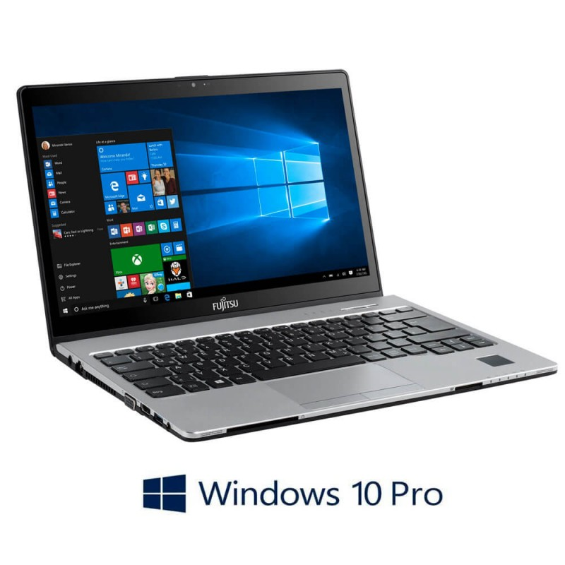 Laptopuri Refurbished Fujitsu LIFEBOOK S936, i5-6200U, SSD 512GB, Win 10 Pro