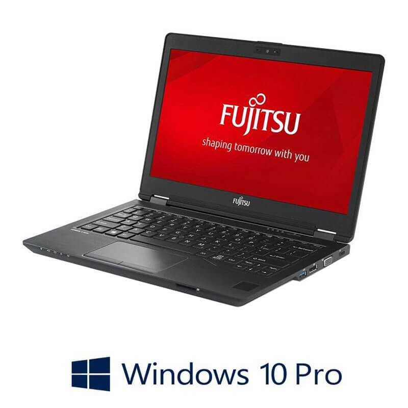 Laptopuri Refurbished Fujitsu LIFEBOOK U727, i7-7500U, TouchScreen, FHD, Win 10 Pro