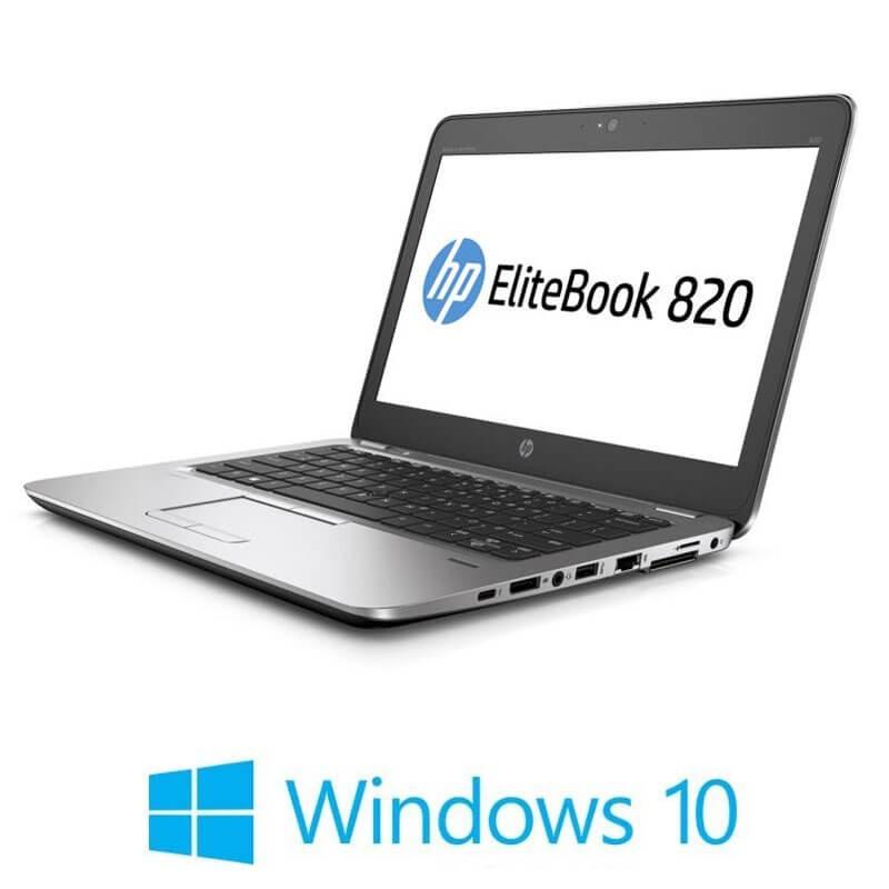 Laptopuri Refurbished HP EliteBook 820 G3, Intel i5-6200U, SSD, Full HD, Win 10 Home
