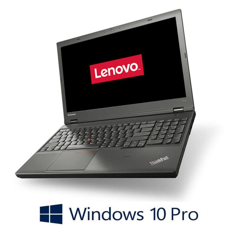 Laptopuri Refurbished Lenovo ThinkPad T540p, i7-4710MQ, Full HD, Webcam, Win 10 Pro