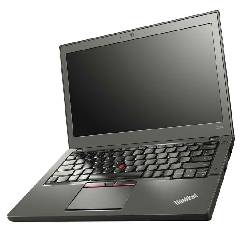 Laptopuri second hand Lenovo ThinkPad X250, i7-5600U, Full HD, 256GB SSD, Webcam, Grad B