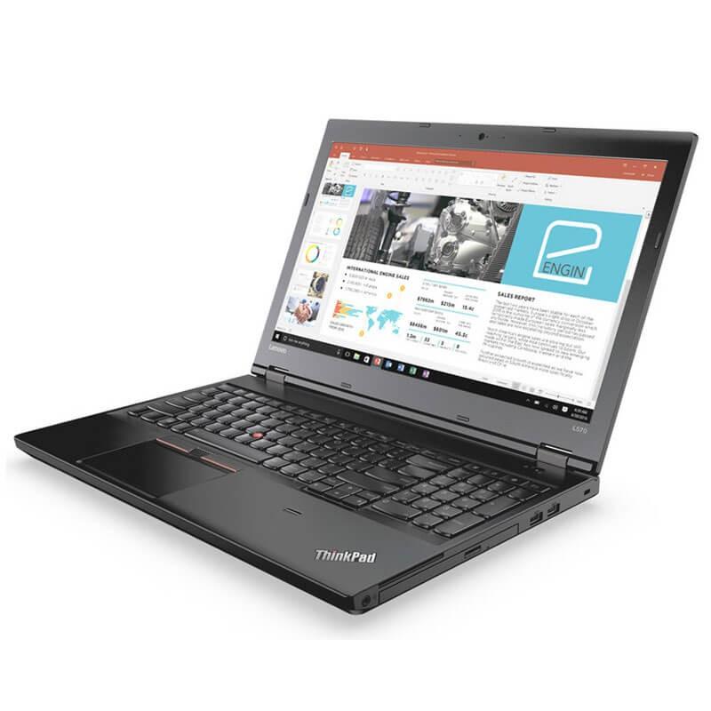 Laptopuri SH Lenovo ThinkPad L570, Intel Dual Core 3965U, SSD, Webcam