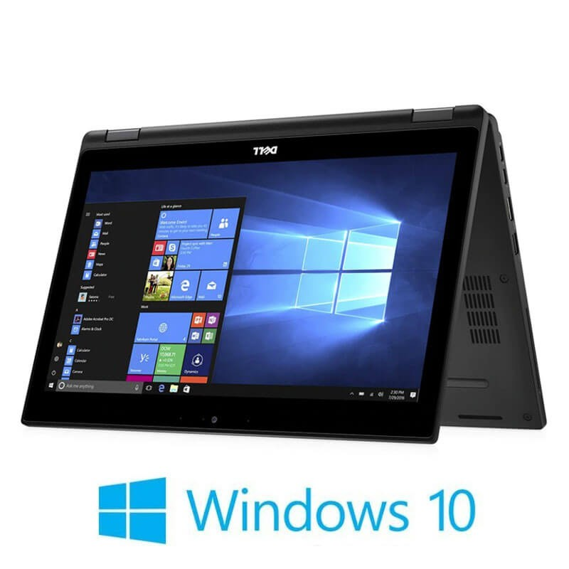 Laptopuri Touchscreen Refurbished Dell Latitude 5289, i5-7300U, SSD, FHD, Win 10 Home