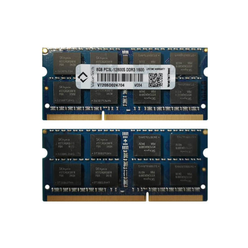 Memorie Laptopuri NOI ValueTech 8GB DDR3L-1600 PC3-12800S