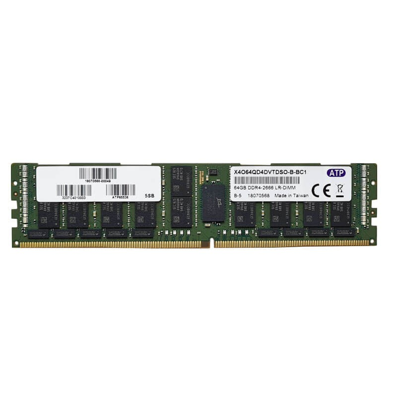 Memorie Servere Refurbished 64GB PC4-2666V-LR DDR4-21333LR, X4O64QD4DVTDSO-B-BC1