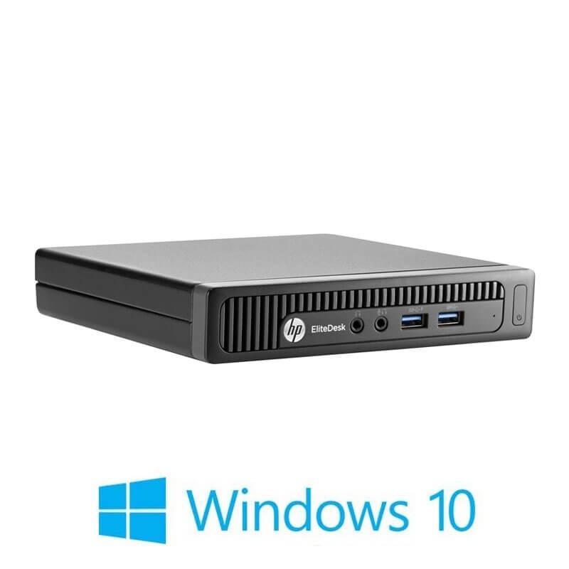 Mini Calculatoare HP EliteDesk 800 G1, Intel Quad Core i5-4590T, Windows 10 Home
