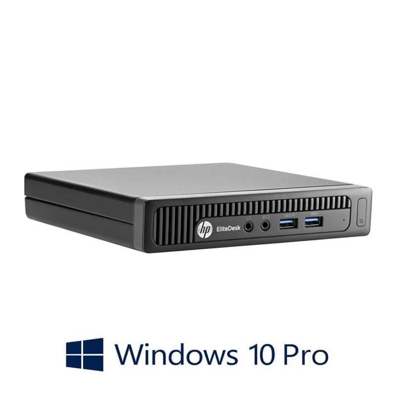 Mini Calculatoare HP EliteDesk 800 G1, Intel Quad Core i5-4590T, Windows 10 Pro