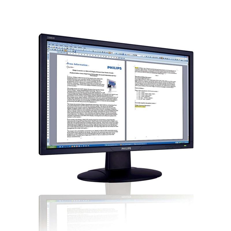 Monitoare LCD Refurbished Philips 22EW, 22 Inch, 5ms