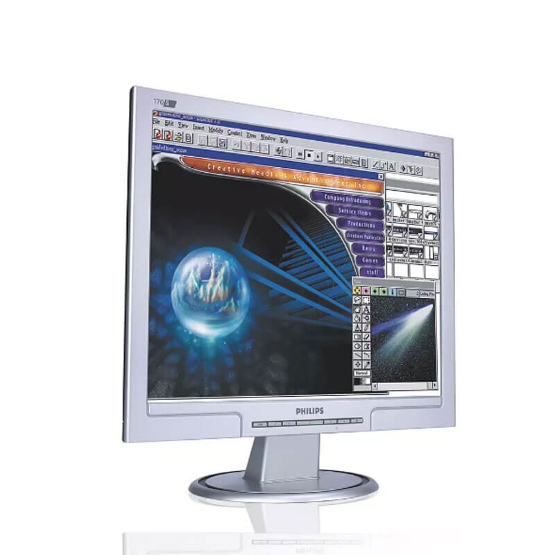Monitor LCD Philips 170S, 17 inch