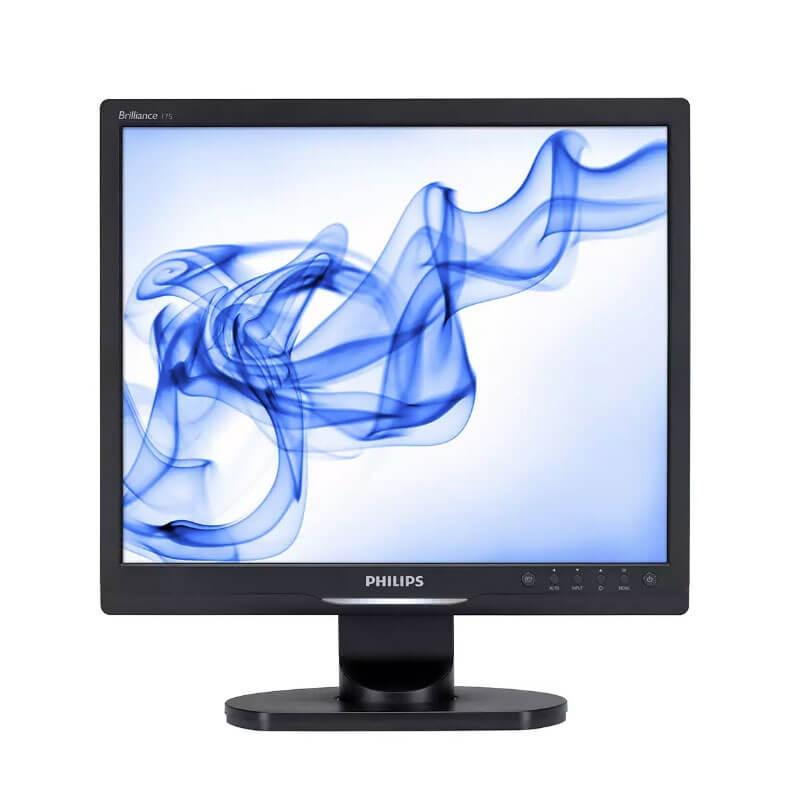 Monitor LCD Refurbished Philips Brilliance 17S1SB, 17 inch