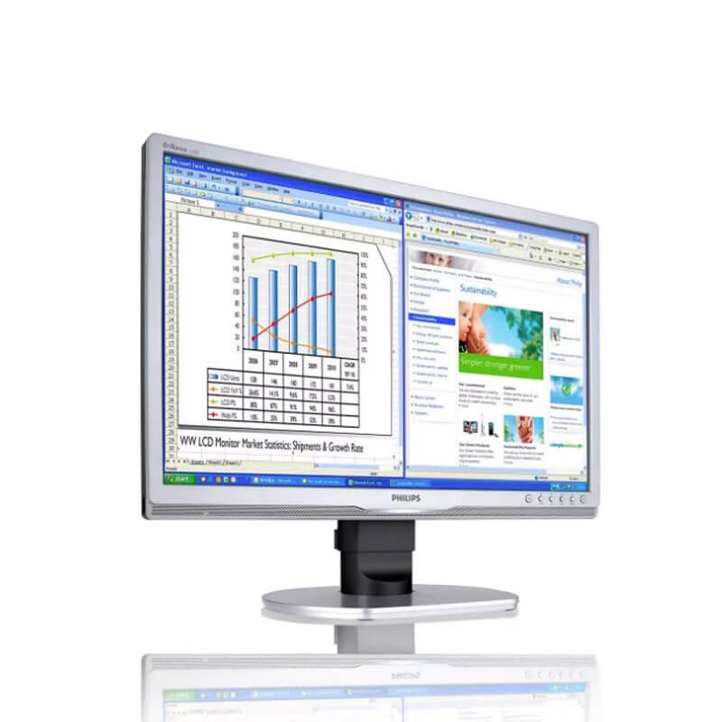 Monitor LCD SH Philips Brilliance 220B, Grad A-, 22 inch Widescreen