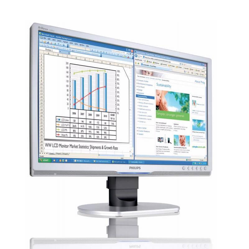Monitor LCD SH Philips Brilliance 220BW9CS, Grad A-, 22 inch Widescreen