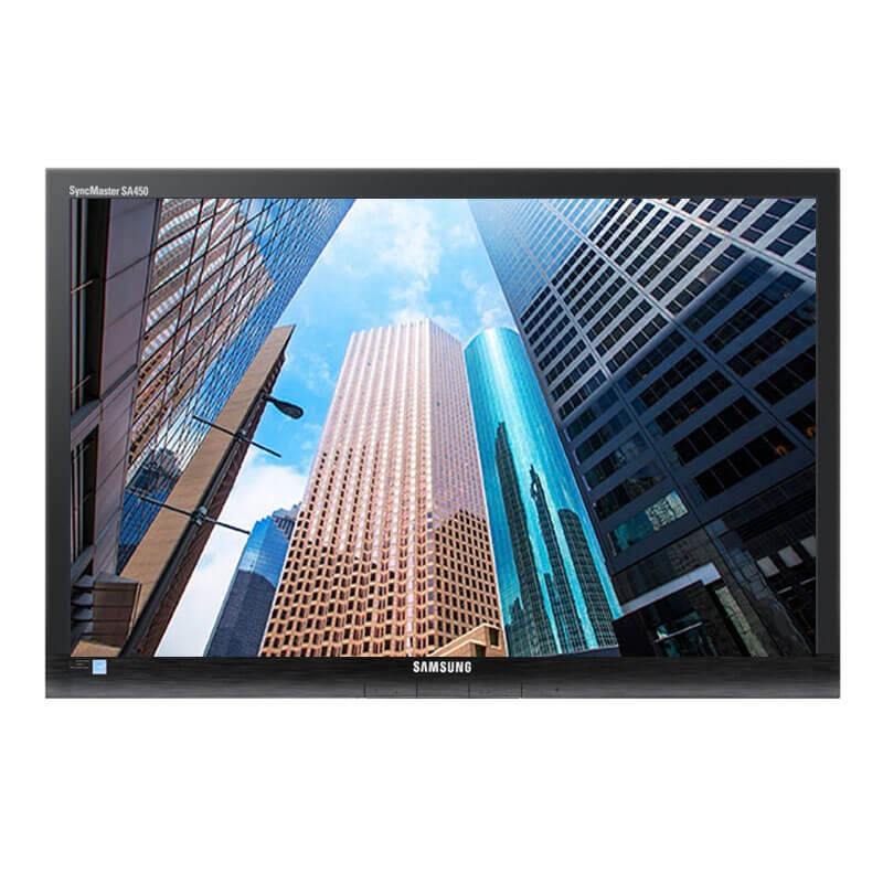 Monitor LED second hand Samsung SyncMaster S24A450BW, Grad A-, 24 inci Full HD