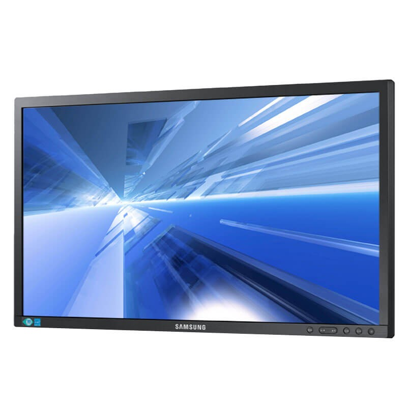 Monitor LED second hand Samsung SyncMaster S24C450BW, Grad A-, 24 inci Full HD
