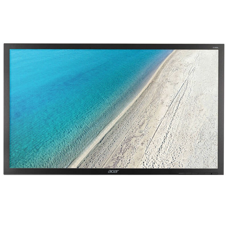 Monitor LED SH Acer B246HL, 24 inch Full HD, Grad A-, Fara Picior