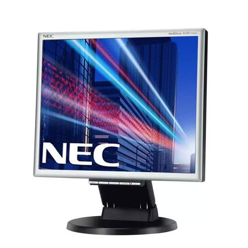 Monitor Refurbished LCD NEC MultiSync 175VXM+, 17 inch