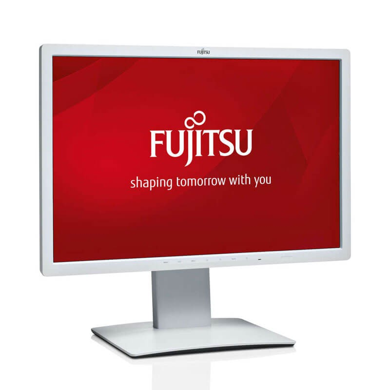 Monitor Refurbished LED Fujitsu B24W-7, Panel IPS, Full HD