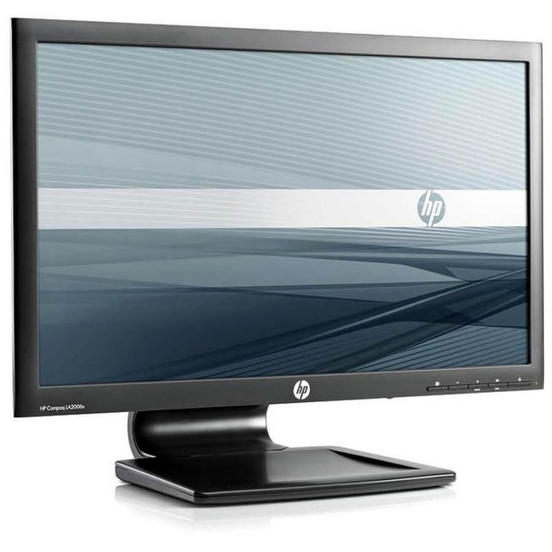 Monitor LED HP Compaq LA2006x, 20 inci WideScreen