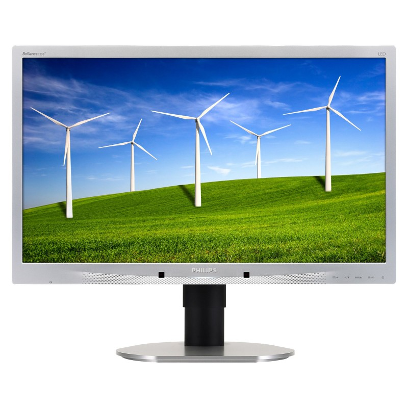 Monitor SH Led Philips 220B4lpcs/00 22 Inch 5ms Silver, Grad A-