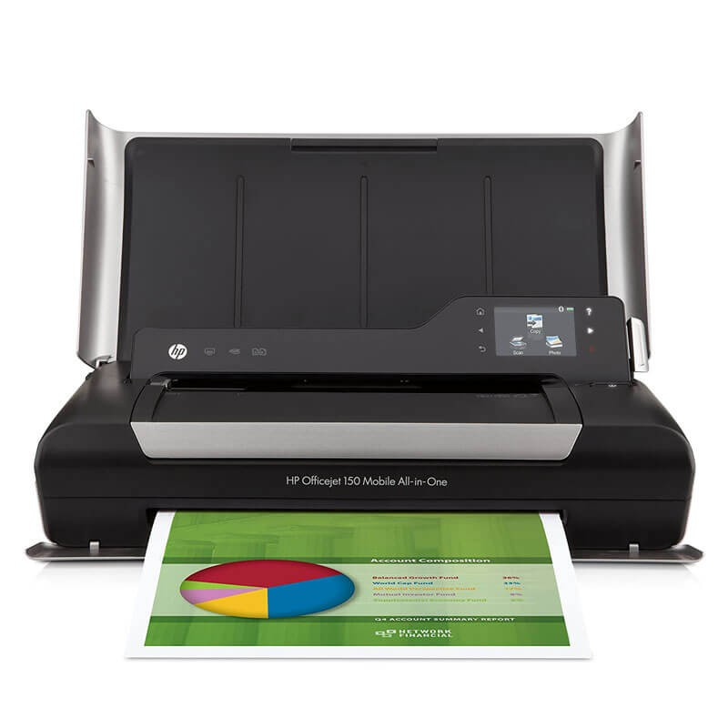 Multifunctionala second hand HP OfficeJet 150 MOBILE All-in-One, Cartuse NOI Full