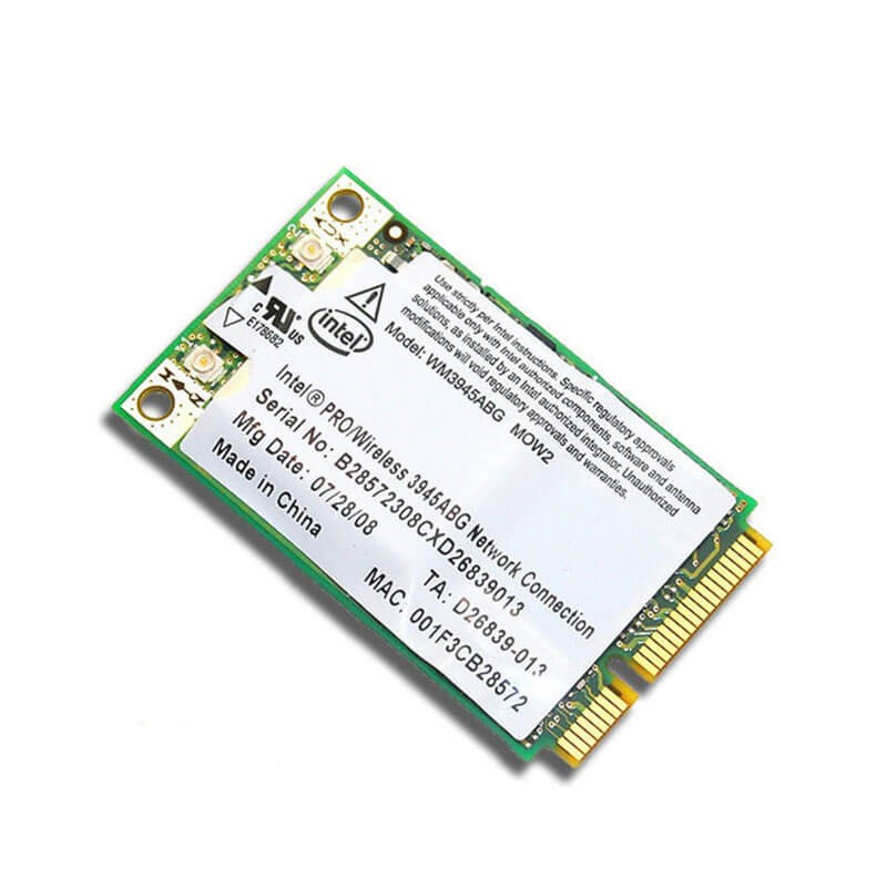 Placa Retea Wireless Intel PRO 3945ABG PCIe Mini