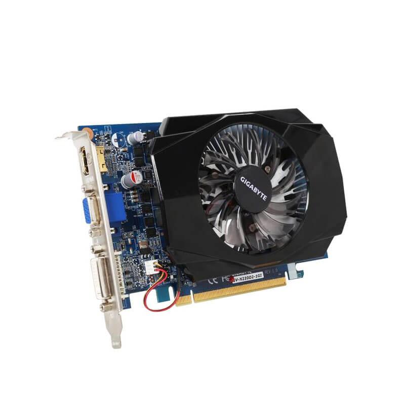 Placa video Refurbished GIGABYTE GV-N210D2-1GI 1GB GDDR2 128-bit