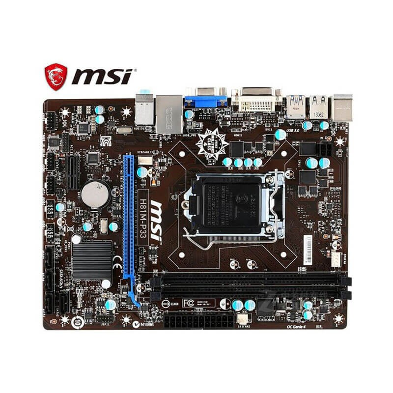 Placi de baza Refurbished MSI H81M-P33, Socket 1150